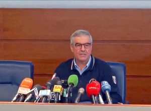 Angelo Borrelli in conferenza stampa