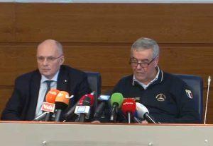 Walter Ricciardi e Angelo Borrelli