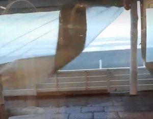Tarquinia - Maltempo - I danni della tromba d'aria al Tibidabo