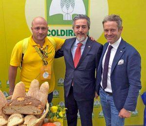 Alberto Frau, Francesco Battistoni e Mauro Pacifici