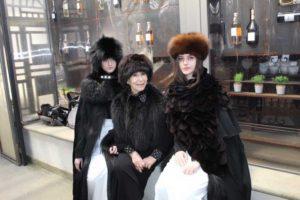 Ronciglione - Carnevale 2020 - Anna Fendi e le modelle Olimpia Caprino e Chiara Cernicchiara