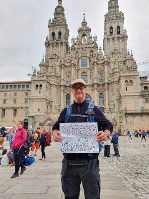 Il pellegrino Vincenzo nel Cammino Santiago 2019