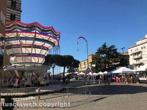 """""""Calcio in culo"""" al Sacrario anche al mercatino dell'antiquariato"""