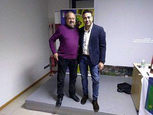 Viterbo - Riunione Aia - Da sinistra: Luigi Gasbarri e Andrea Sorrentino