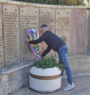 La commemorazione dei caduti nelle foibe a Oriolo Romano