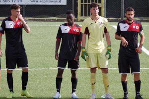 Sport - Calcio - Monterosi - I biancorossi in campo contro il Grosseto