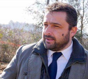 Il sindaco di Chiusi Juri Bettolini