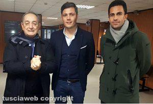 Carlo Taormina, Manuel Pecci e Fausto Barili
