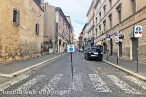 Tarquinia - Corso Vittorio Emanuele chiuso al traffico