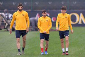 Sport - Calcio - L'allenamento della Roma