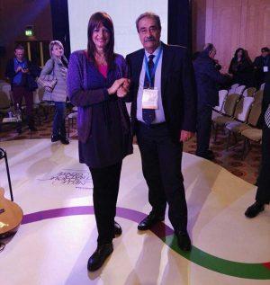 Silvia Somigli con Pino Turi