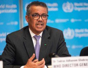 Tedros Adhanom Ghebreyesus, direttore generale dell'Organizzazione mondiale della sanità