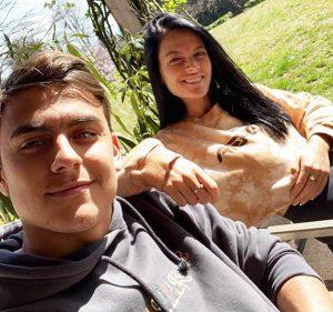 Paulo Dybala e la fidanzata Oriana