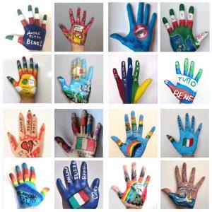"""""""Dipingi la tua mano"""", l'iniziativa del liceo artistico Orioli"""