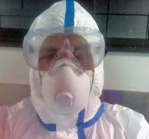 Coronavirus - Belcolle - Un operatore sanitario