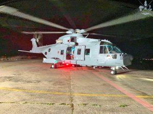 Un elicottero per il bio-contenimento - Stato maggiore della difesa