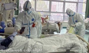 Coronavirus - Una terapia intensiva