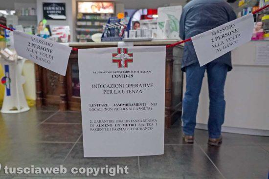 Viterbo - Coronavirus - La Farmacia Carlini