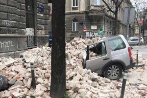 Terremoto a Zagabria