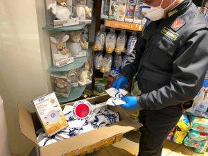 Emergenza Coronavirus - Guardia di finanza - Sequestrate 139 mascherine non a norma