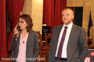 Tarquinia - I consiglieri regionali Silvia Blasi e Devid Porrello