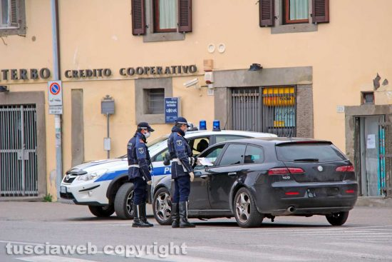 La Quercia - I controlli della Polizia locale