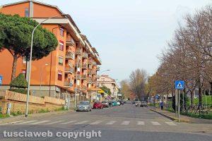 Viterbo - Via Cattaneo