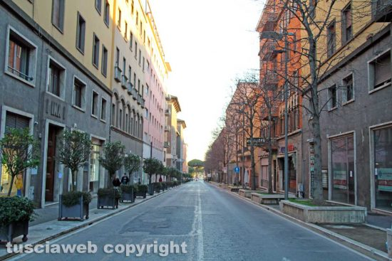 Viterbo - Centro storico - Via Marconi