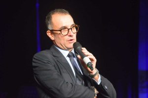 Il presidente del Lions club Tarquinia Paolo Pirani