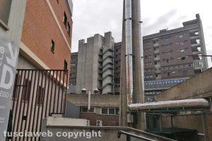 Viterbo - Il reparto malattie infettive dell'ospedale di Belcolle