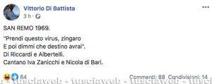 Il post di Vittorio Di Battista
