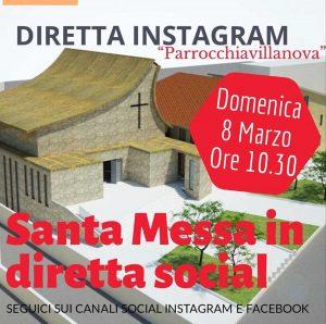 Viterbo - Parrocchia di Villanova - Messa in diretta Instagram