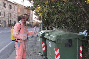 Vetralla - Partiti gli interventi di sanificazione