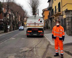 Montefiascone - Coronavirus - Sanificazione delle strade