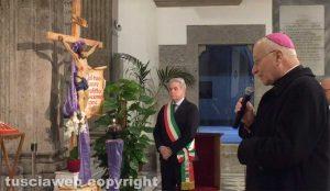 Il Basilica della Madonna della Quercia - La celebrazione del Patto d'amoreito celebrato dal vescovo Lino Fumagalli