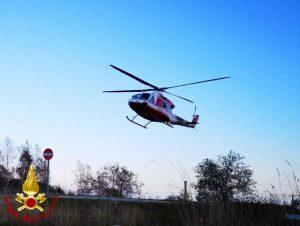 Vigili del fuoco - Le ricerche del piccolo disperso nel Materano