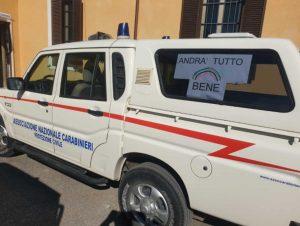 Associazione nazionale carabinieri Protezione Civile in azione