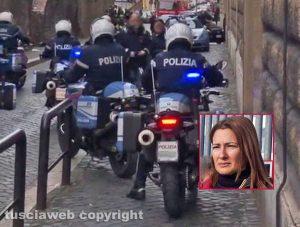 Regina Coeli - Detenuti in rivolta. fuori del carcere anche la mamma di Andrea Landolfi (nel riquadro)