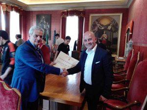 Sport - Calcio a cinque - Active network - David Ceppi con Giovanni Arena