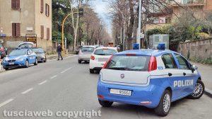 Viterbo - Viale Trieste - Coronavirus - I controlli della polizia
