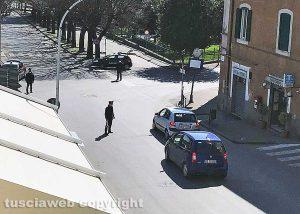 Coronavirus - I controlli dei carabinieri a Tuscania