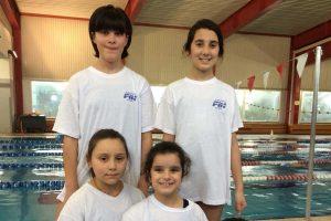 Sport - Nuoto - Le atlerte del centro Fin Crl