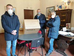 Civita Castellana - Consegnate 6mila mascherine al comune