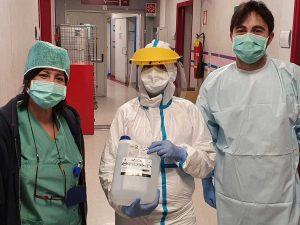 Coronavirus - Donazioni all'ospedale di Belcolle