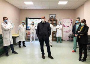 Viterbo - Coronavirus - Zingaretti a Belcolle