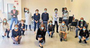 Coronavirus - Il team della Asl di Viterbo