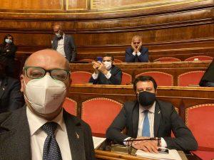 La Lega occupa le camere - Matteo Salvini