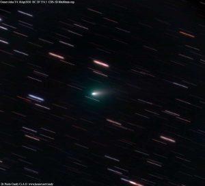 Viterbo - La cometa Atlas Y4