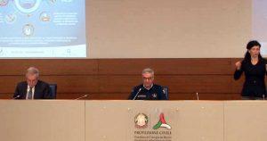 Coronavirus - La conferenza stampa della protezione civile