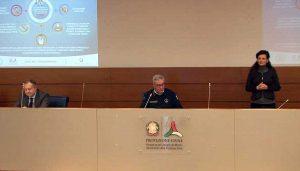 Roma - La conferenza stampa della protezione civile sul Coronavirus